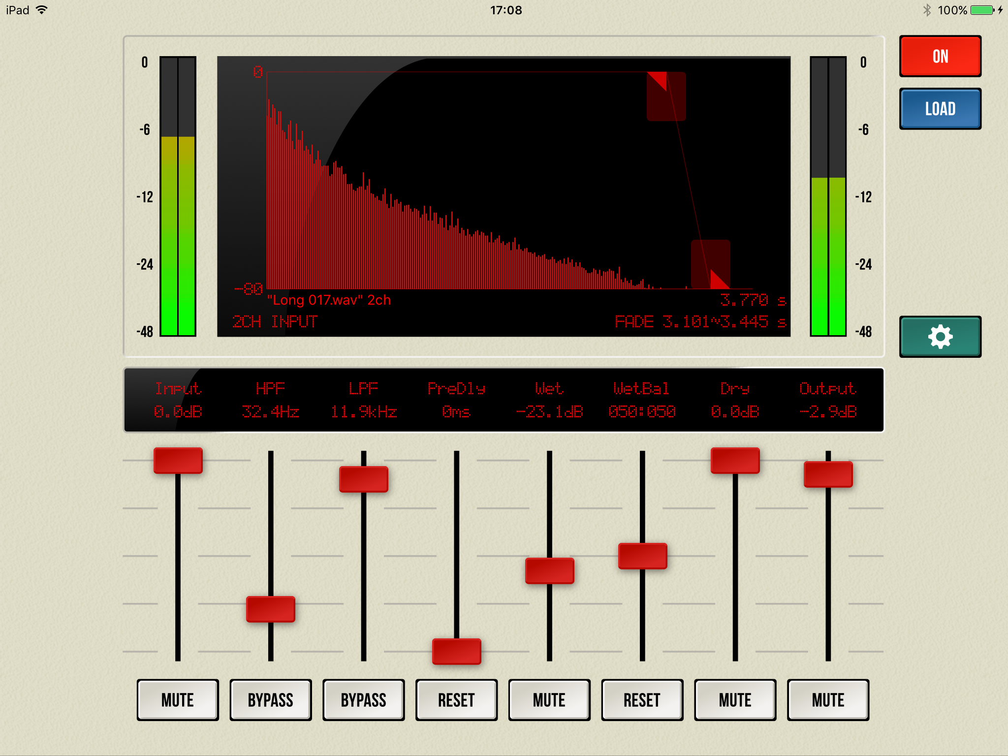 ART Teknika releases iConvolver 1.0 for iOS - Impulse Response Reverb Image